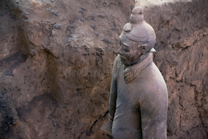 Terracotta Army, China royalty free stock photos