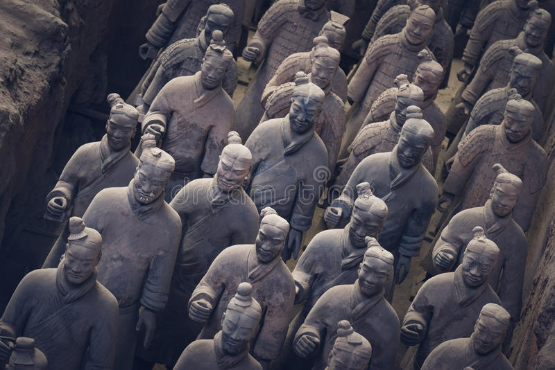 Terracotta Army, China stock image