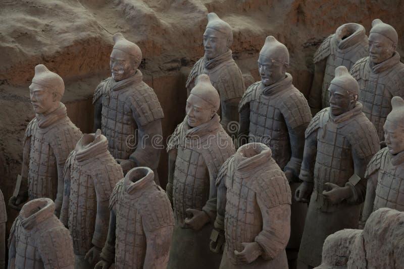 Terracotta Army, China royalty free stock photo