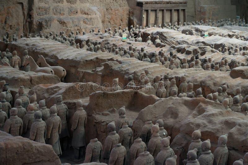 Terracotta Army, China stock photos