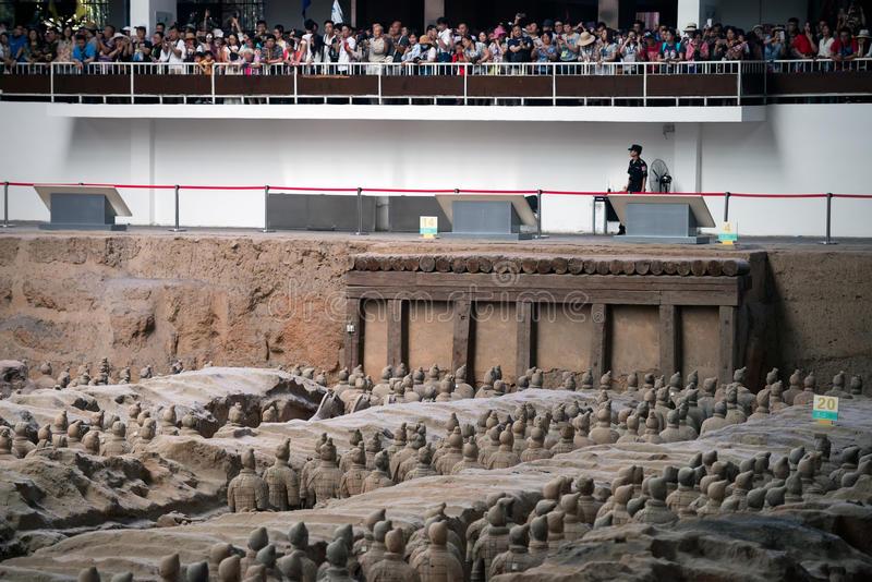 Terracotta Army, China royalty free stock image