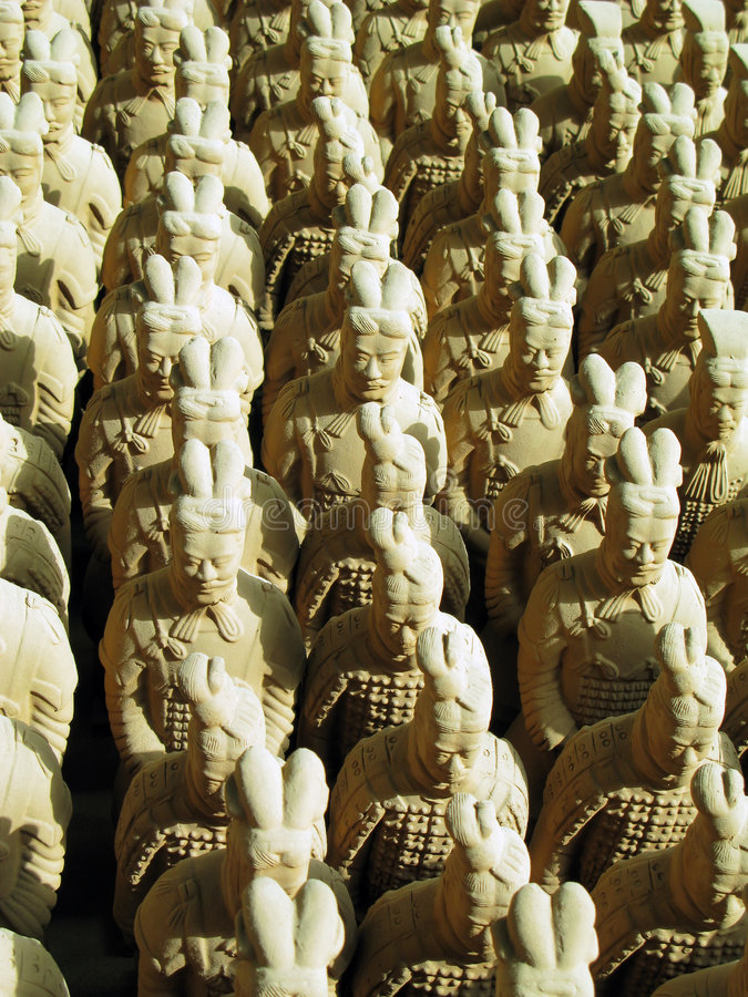 Download Terracotta Army Replica stock photo. Image of east, history - 4753724