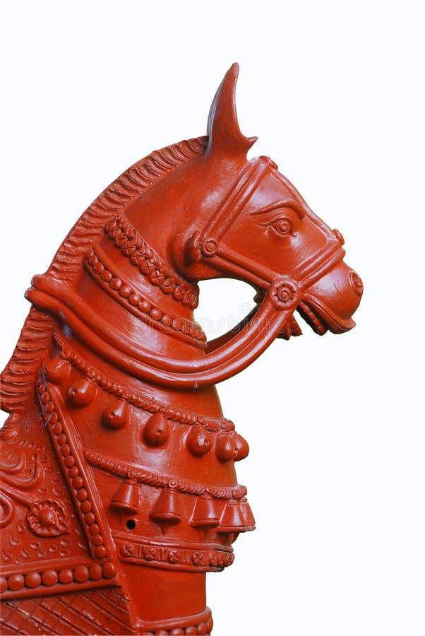 Terracotta horse royalty free stock photos