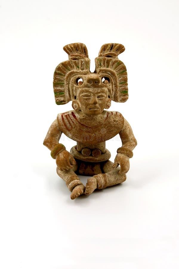 Terracotta maia imagem de stock royalty free