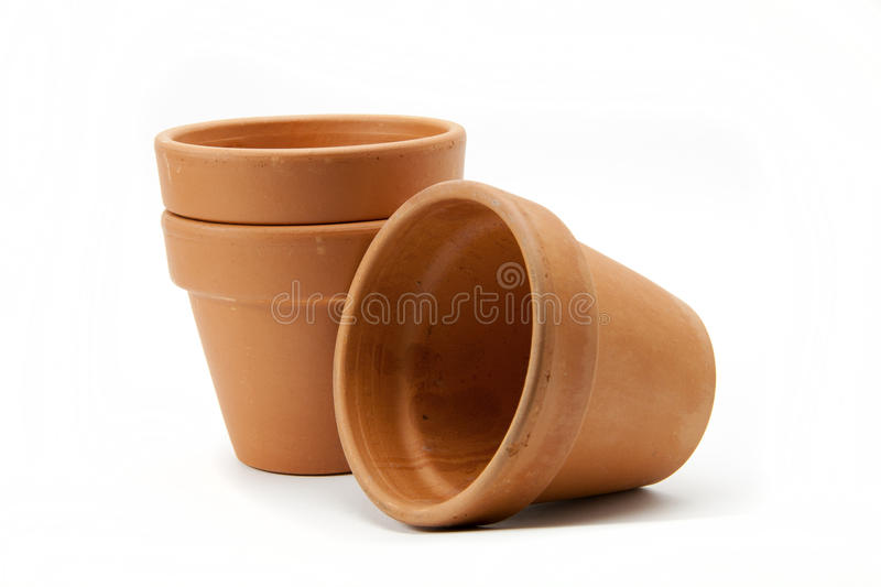 Download Terracotta pots. stock photo. Image of container, planters - 19347918
