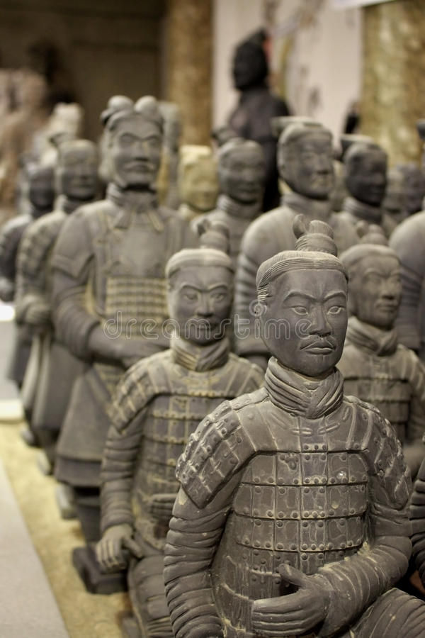 Download Terracotta Soldiers stock photo. Image of shaanxi, terracotta - 11502702