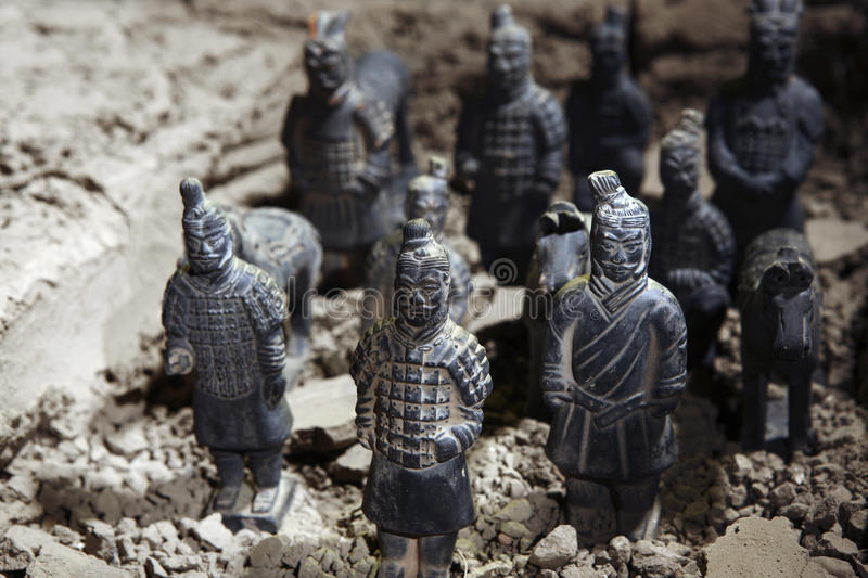 Download Terracotta soldiers stock photo. Image of ancient, close - 13741634