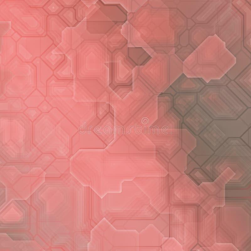 Terracotta toekomstige fantasie royalty-vrije stock afbeelding