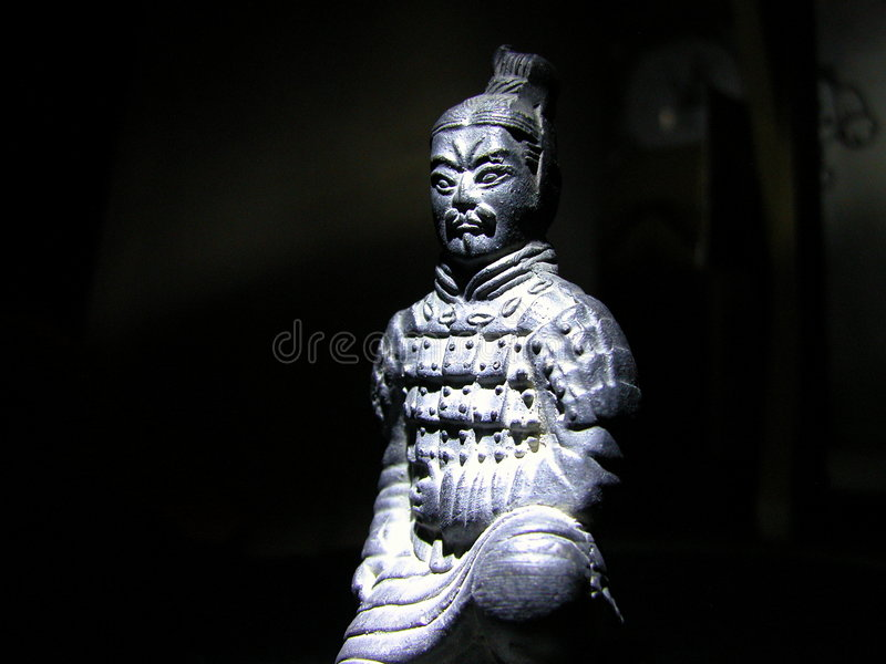 The Terracotta Warriors. Is a fantastic tourist attraction in China. It was buried in front of the Emperor Qinshihuang's tomb to defend him in the afterlife stock photos