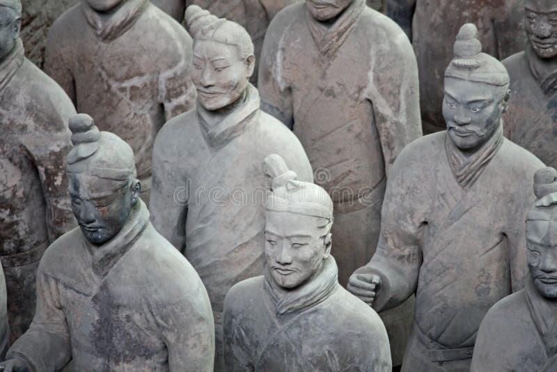 Terracotta Warriors, China Royalty Free Stock Photography
