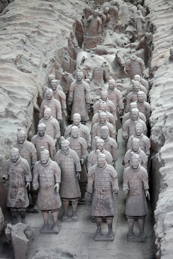 Download Terracotta warriors, China stock image. Image of artistic - 15730057