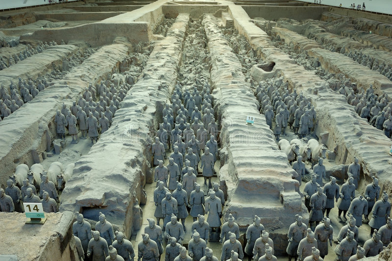 Download Terracotta Warriors And Horses Stock Image - Image: 8976229