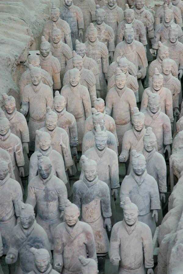 Free Terracotta Warriors Xian Royalty Free Stock Photos - 7432658
