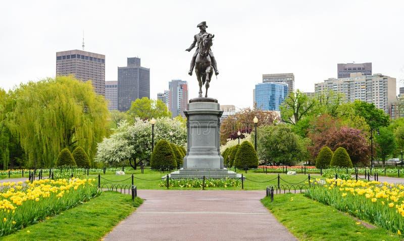 Terrain communal de Boston images stock