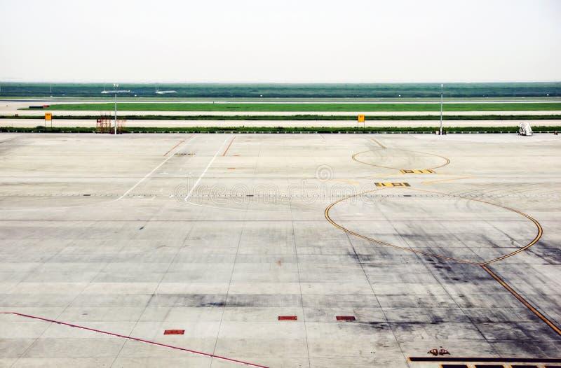 Terrain d'aviation photos libres de droits