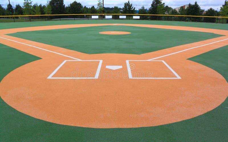 Terrain de base-ball image stock