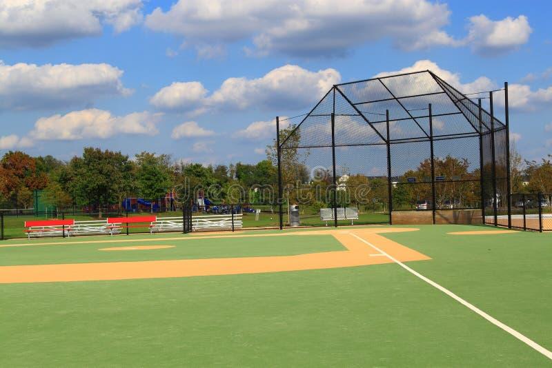 Terrain de base-ball photographie stock