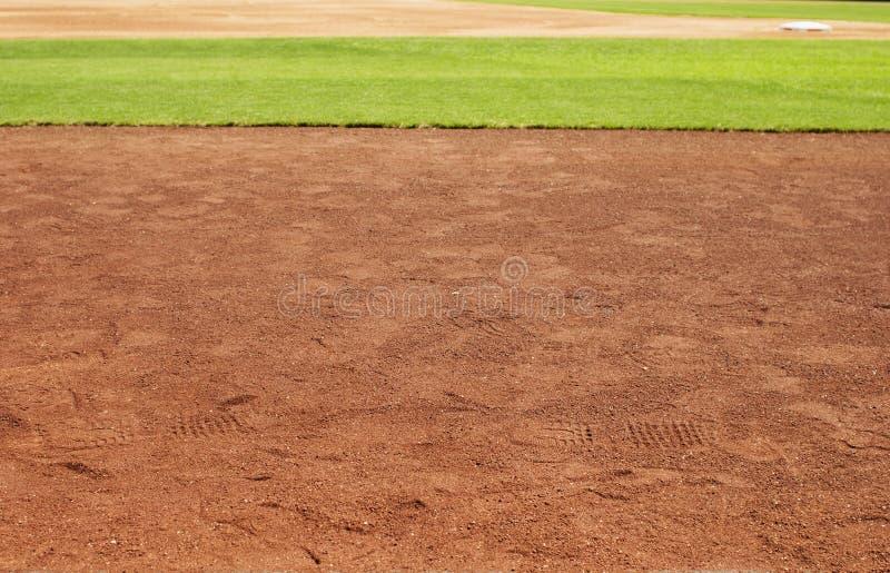 Terrain de base-ball images libres de droits