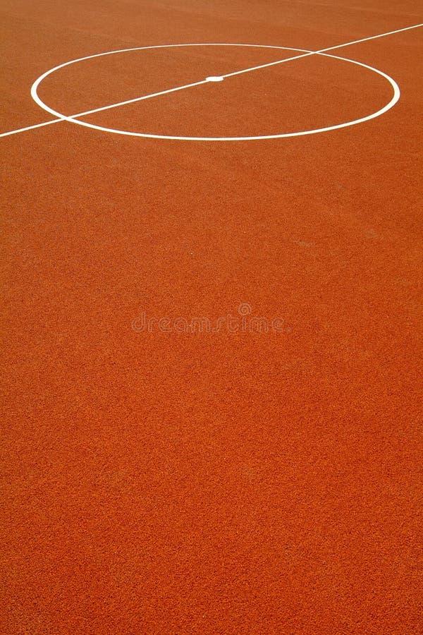 Terrain de basket images libres de droits