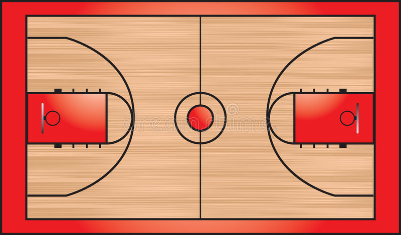 terrain de basket illustration de vecteur illustration du illustr 8915244. Black Bedroom Furniture Sets. Home Design Ideas