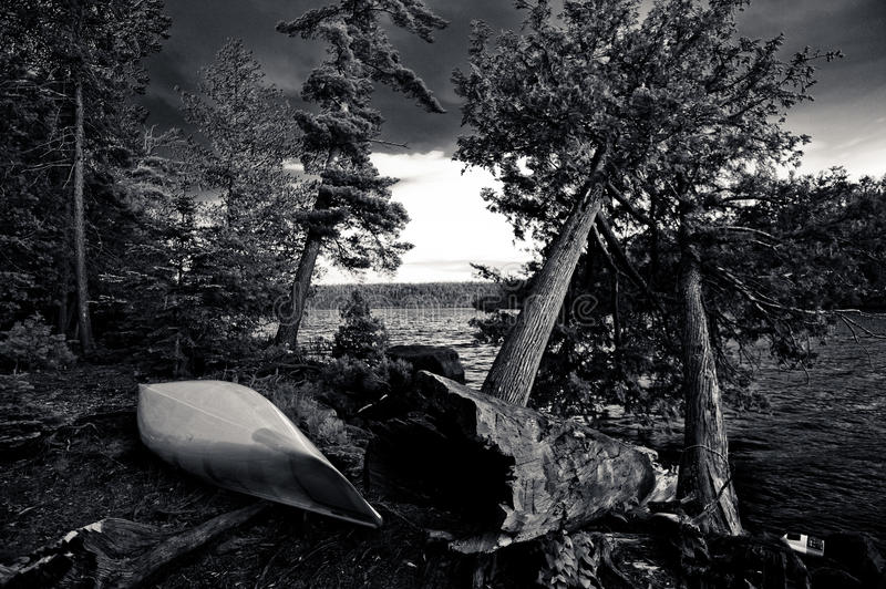 Terrain de camping de Bwcaw photos stock