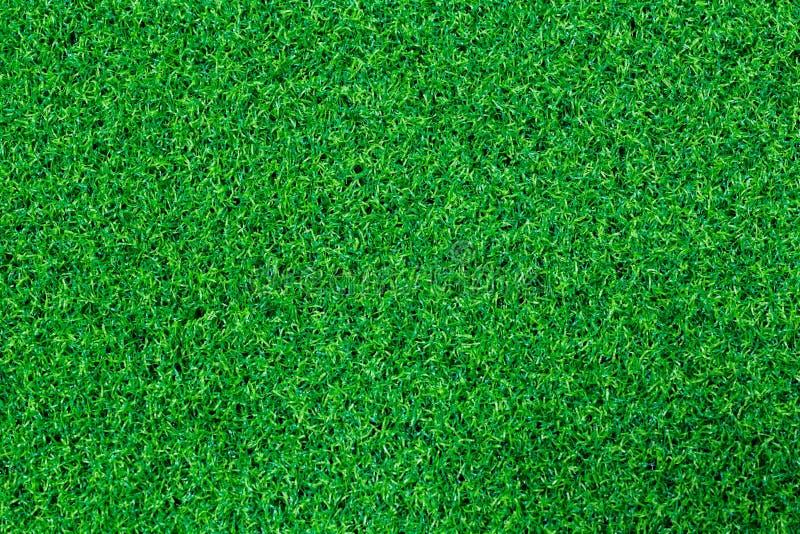 Terrain de football artificiel de gazon photographie stock
