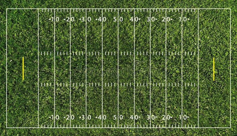 Terrain de football (NFL) illustration de vecteur