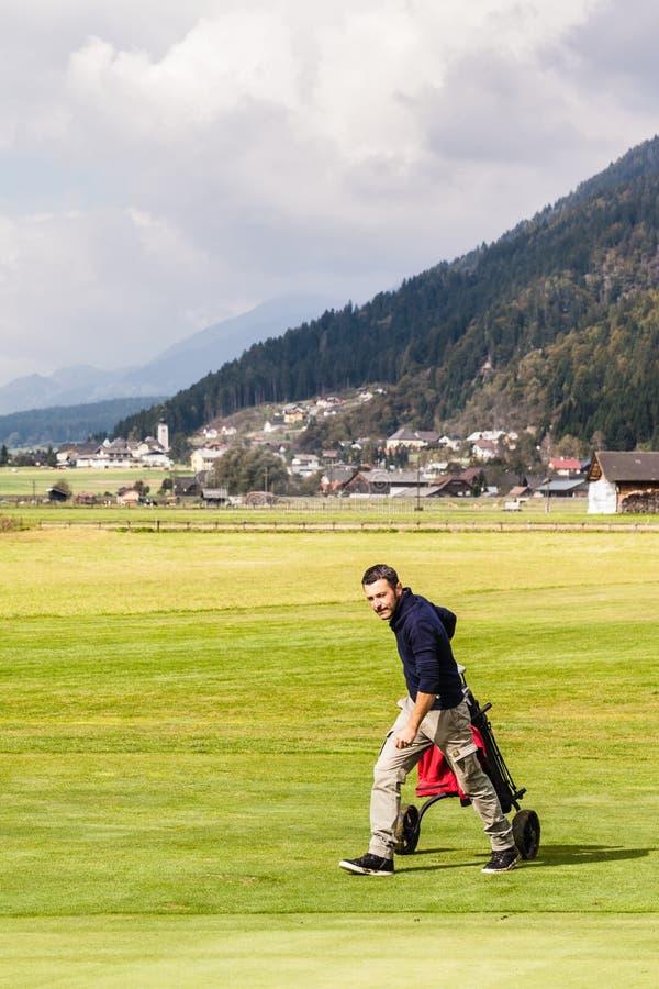 Terrain de golf autrichien photo stock