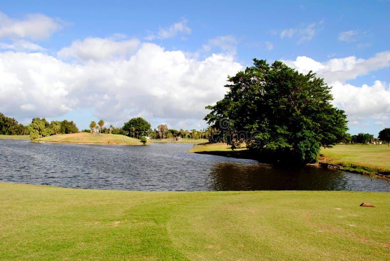 Terrain de golf de Bonaventure County Club photo libre de droits