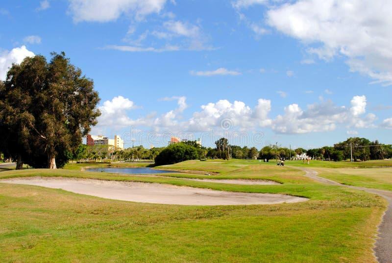 Terrain de golf de Bonaventure County Club photos libres de droits
