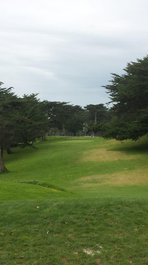 Terrain de golf de Golden Gate photo libre de droits