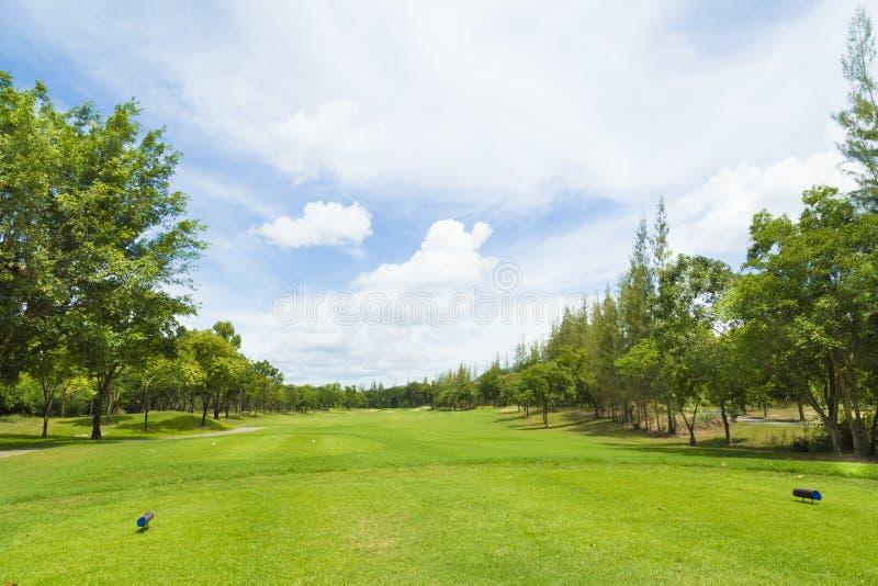 Terrain de golf en Thaïlande photo stock