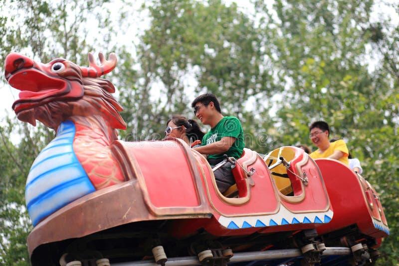 Terrain de jeu de nandaihe de la Chine image stock
