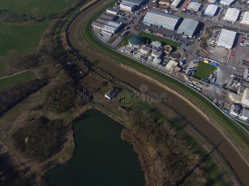 Terrains de jeu de route de chêne, Kingston sur la coque images libres de droits