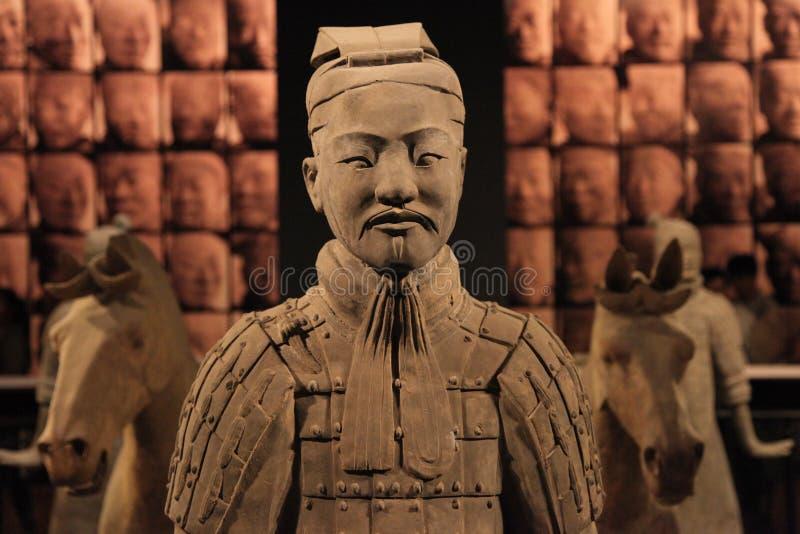 Terrakotta-Armee stockfoto