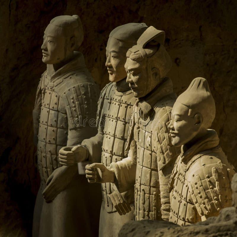 Terrakottaarmén royaltyfria foton