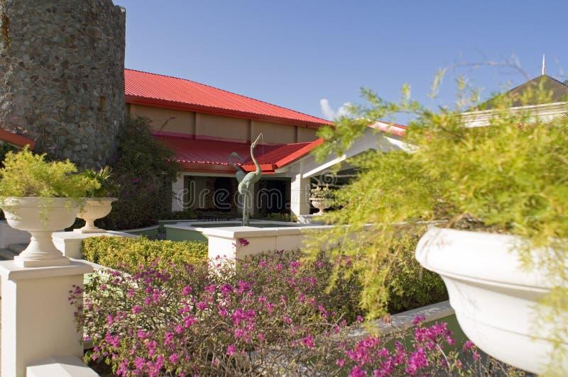 terrance фонтана стоковое фото rf