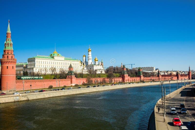 Terraplén del Kremlin fotografía de archivo