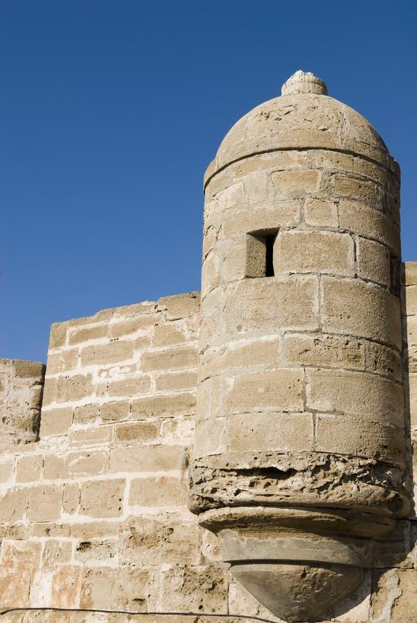Terraplén Essaouira, Marruecos Foto de archivo libre de regalías