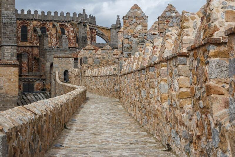 Terraplenes de Ávila imagen de archivo libre de regalías