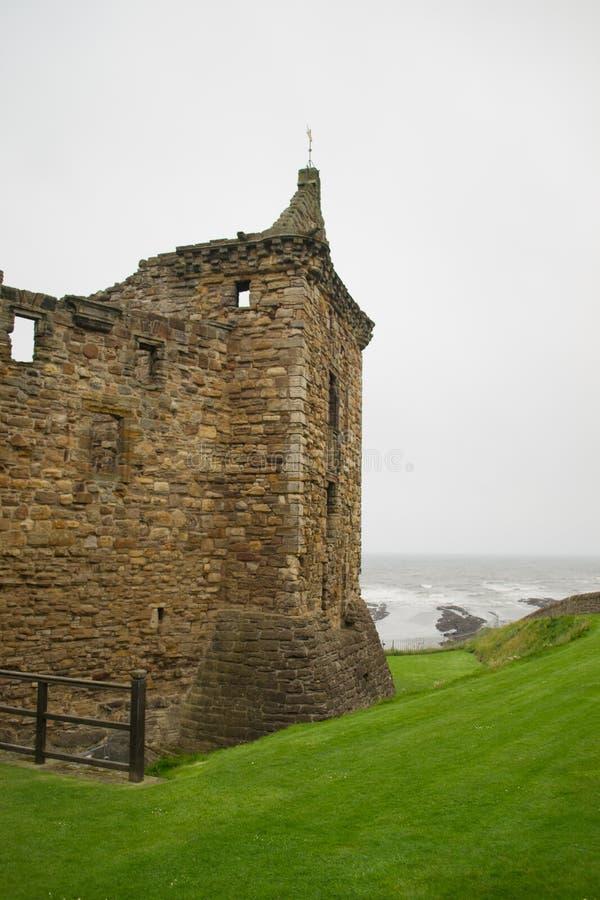 Terras da catedral de St Andrews fotografia de stock royalty free