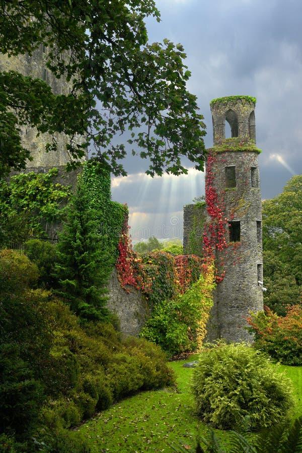 terras do castelo fotografia de stock