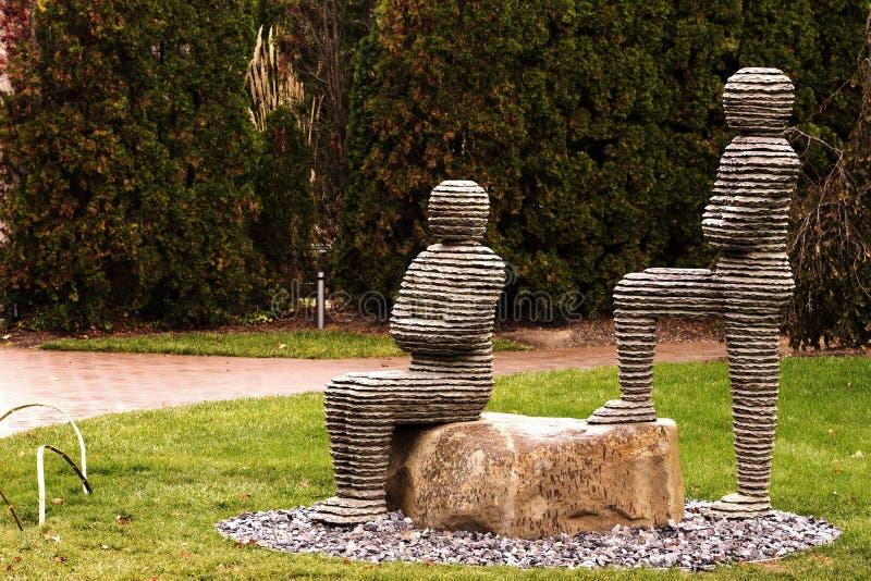 Terras para a escultura fotografia de stock royalty free