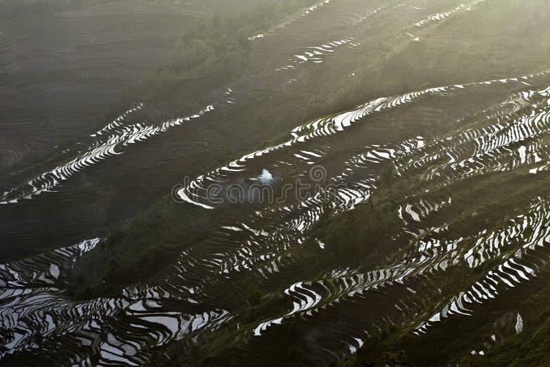 Terrasse de Hani, Yunnan, China014 photographie stock libre de droits