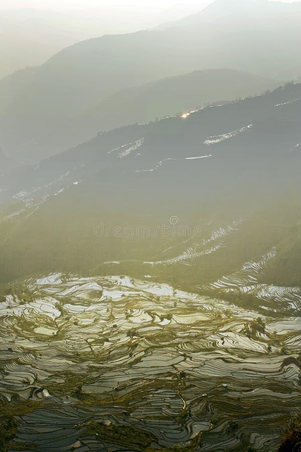 Terrasse de Hani, Yunnan, China08 images libres de droits