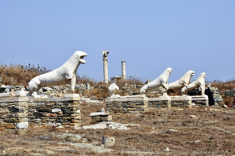 Terrasse des lions photographie stock libre de droits