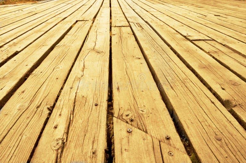 Terrasse en bois photo stock