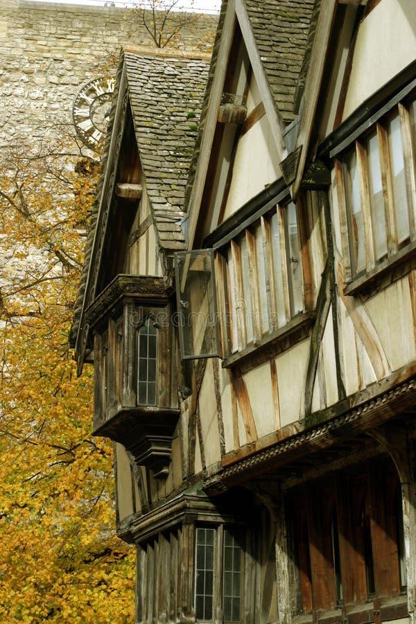 Terrasse médiévale image libre de droits
