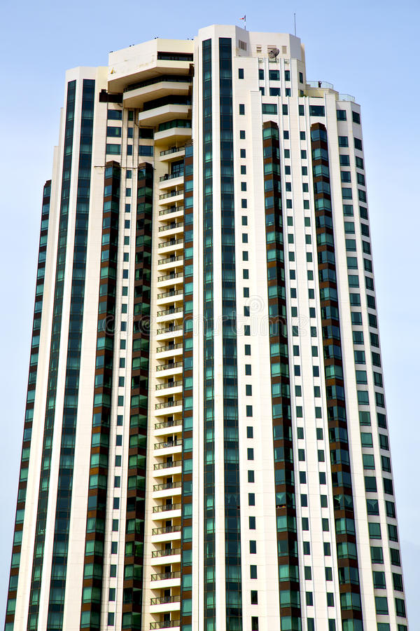 terrasse Thaïlande de Bangkok le skyscrape moderne de bâtiment photos stock