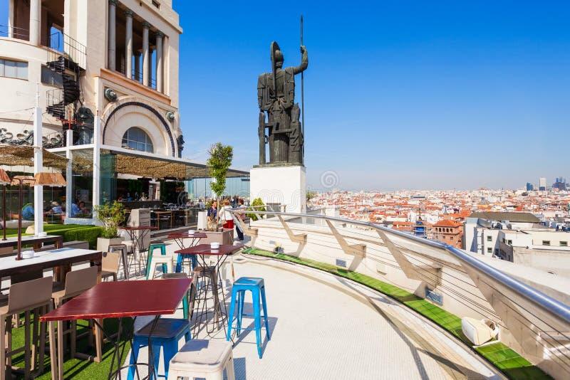 Vista Al Aire Libre De Circulo De Bellas Artes Imagen De